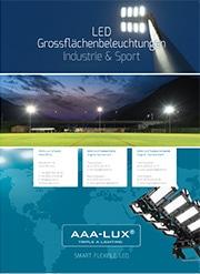 LED Grossflächenbeleuchtungen Industrie & Sport