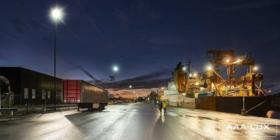 Hafenterminals
